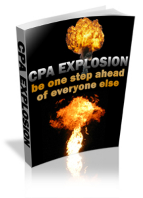 Product picture *NEW!* CPA Explosion - Cost Per Action - Explode your profit